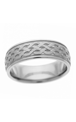 Brilliant Diamonds Bridal Hand Engraved wedding band H3987 product image