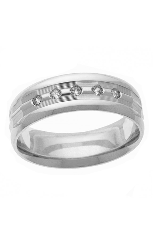 Brilliant Diamonds Bridal Diamond wedding band U0829 product image