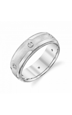 Brilliant Diamonds Bridal Diamond Wedding Band U1486 product image