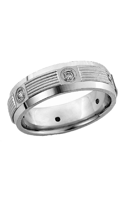Brilliant Diamonds Bridal Diamond wedding band U2315 product image